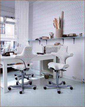 HAG Capisco Ergonomic Chair   Task Chairs And Motion Seating,