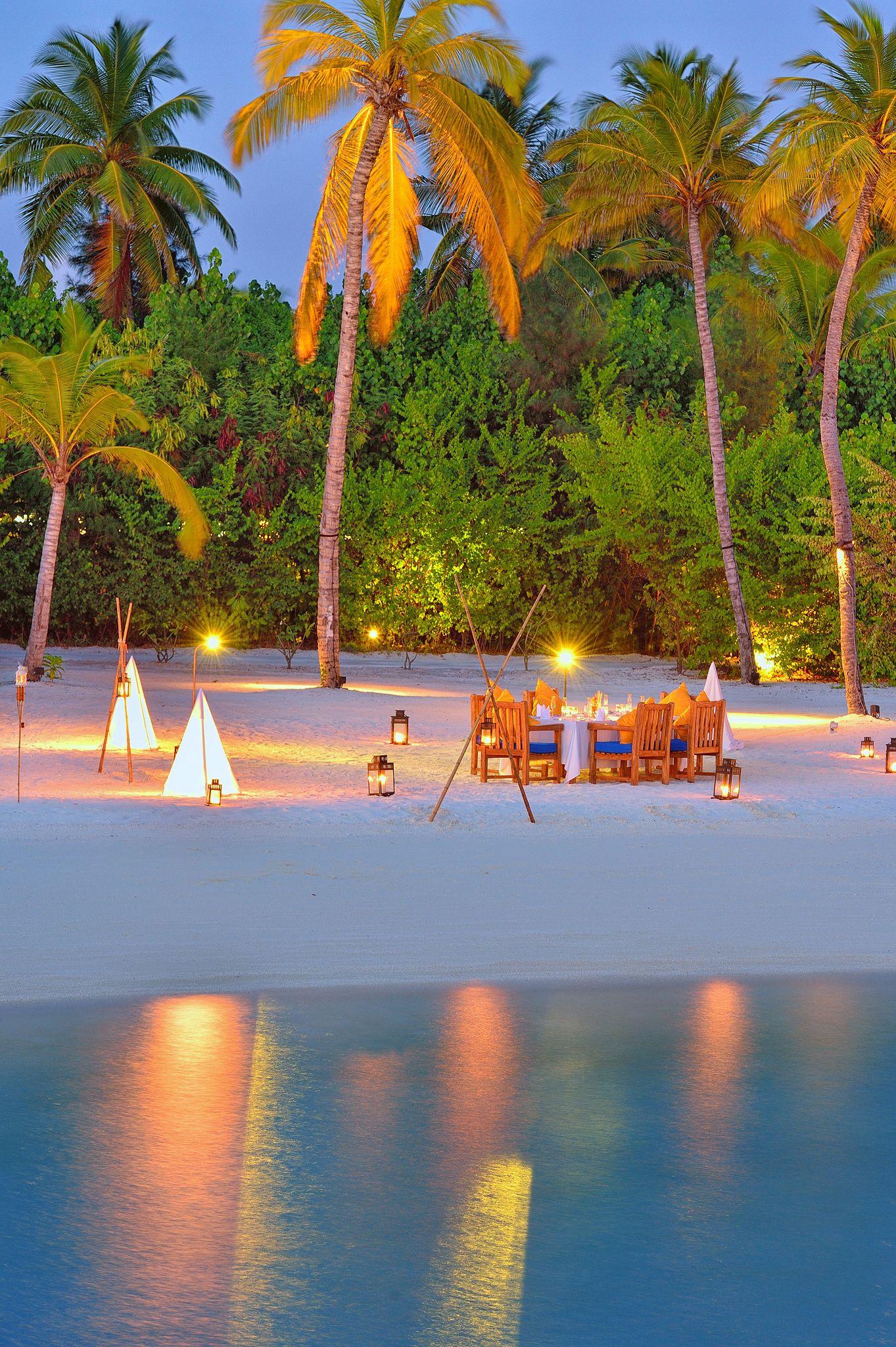 Romantic Private Beach BBQ Dinner