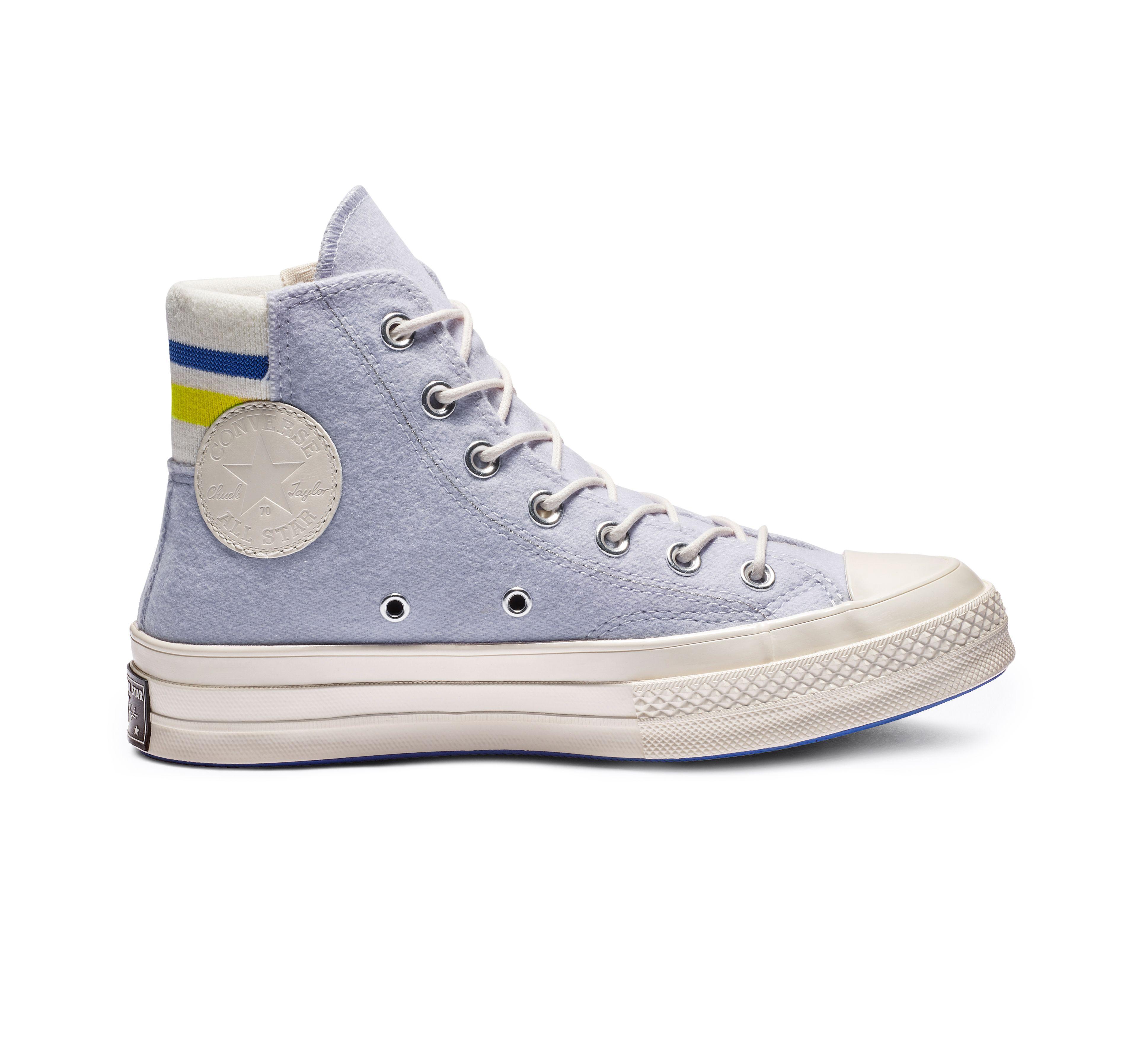 Chuck 70 Retro Stripe High Top | Black high top shoes