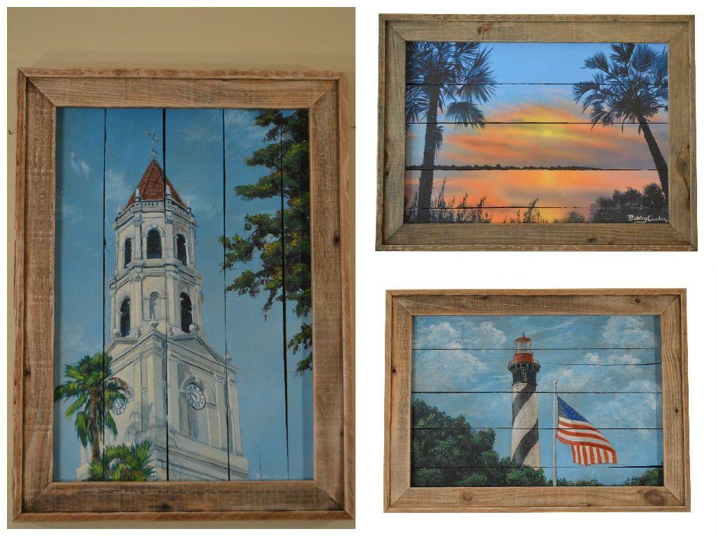 #Art, #Beach, #Florida, #ReclaimedWood, #RecycledPallet
