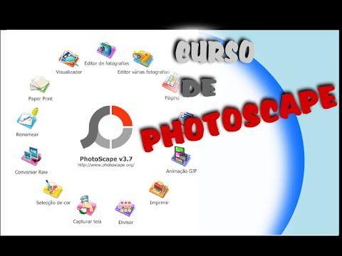 Dica Curso Gratis De Photoscape Completo Aula 2 Youtube
