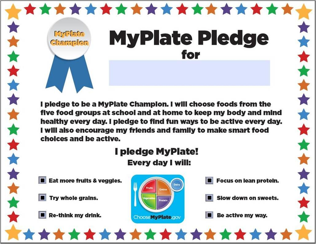 10 000 People Have Taken The Pledge To Become A Myplate