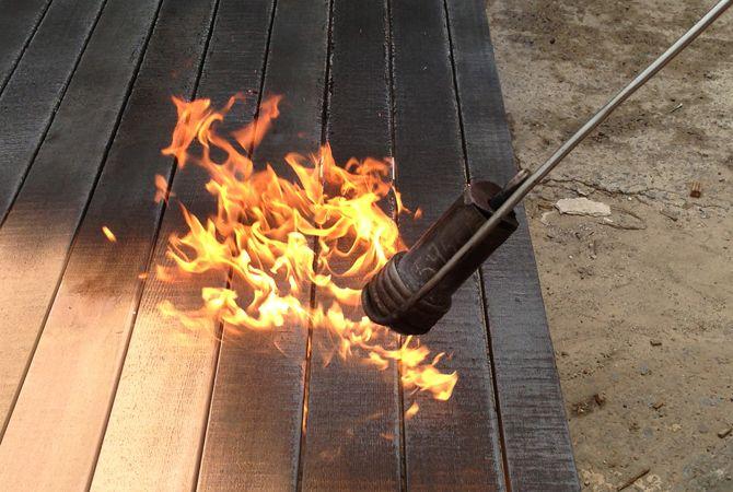 Shou Sugi Ban Is The Ancient Japanese Art Of Burning Sugi