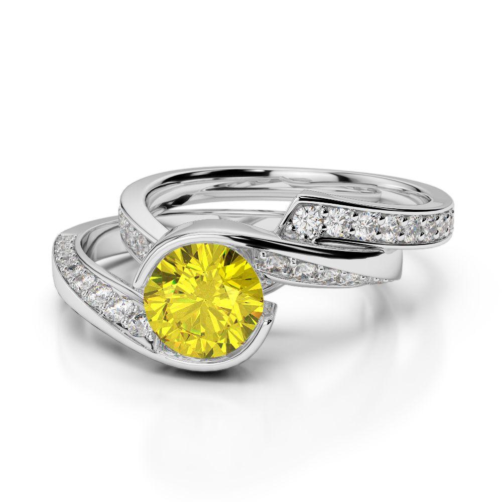 30++ White sapphire wedding ring sets ideas