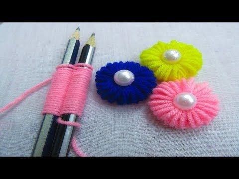 Hand Embroidery Amazing Trick# Sewing Hack# Easy Hand Embroidery Trick - YouTube #embroidery