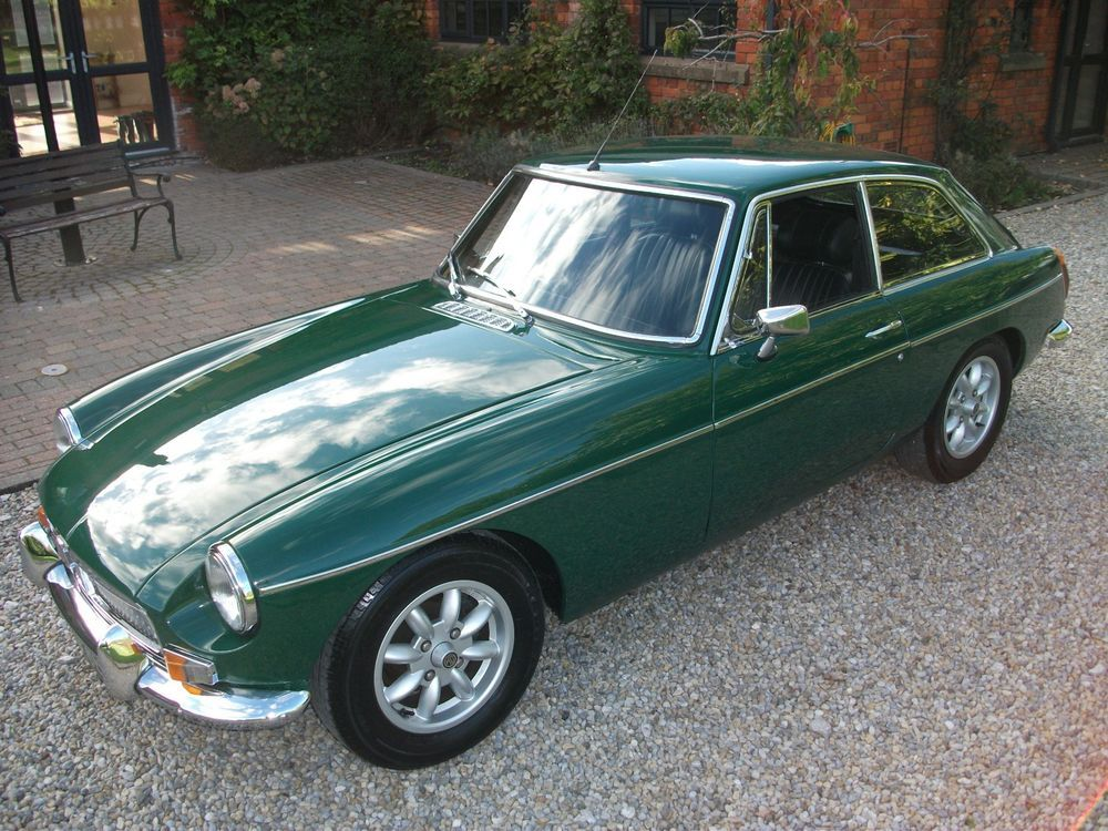eBay: MGB GT, 1971, RESTORED, Chrome Bumpers, Overdrive, MOT
