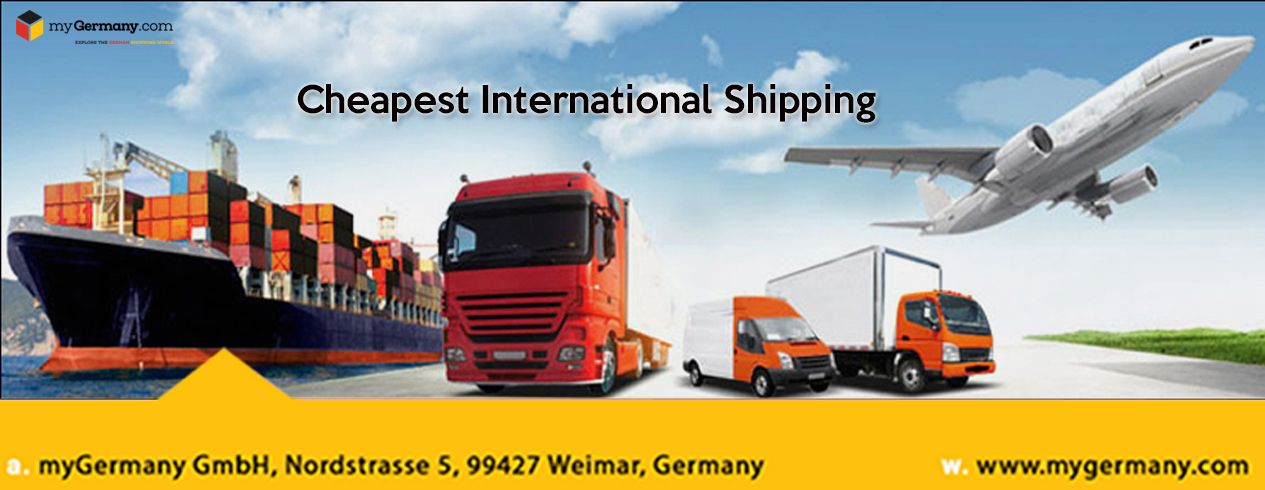International Shipping Cost Calculation, from Germany to you