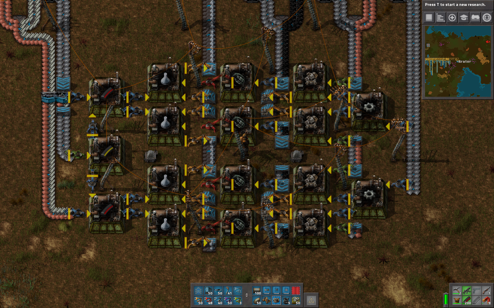 My first attempt at Military Science  : factorio | blueprint