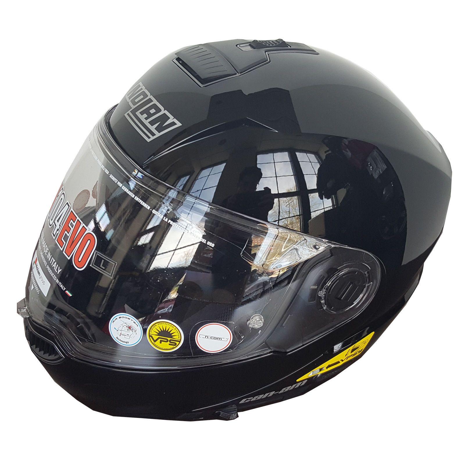 Apparel nolan n evo helmet can am xlarge black brand new
