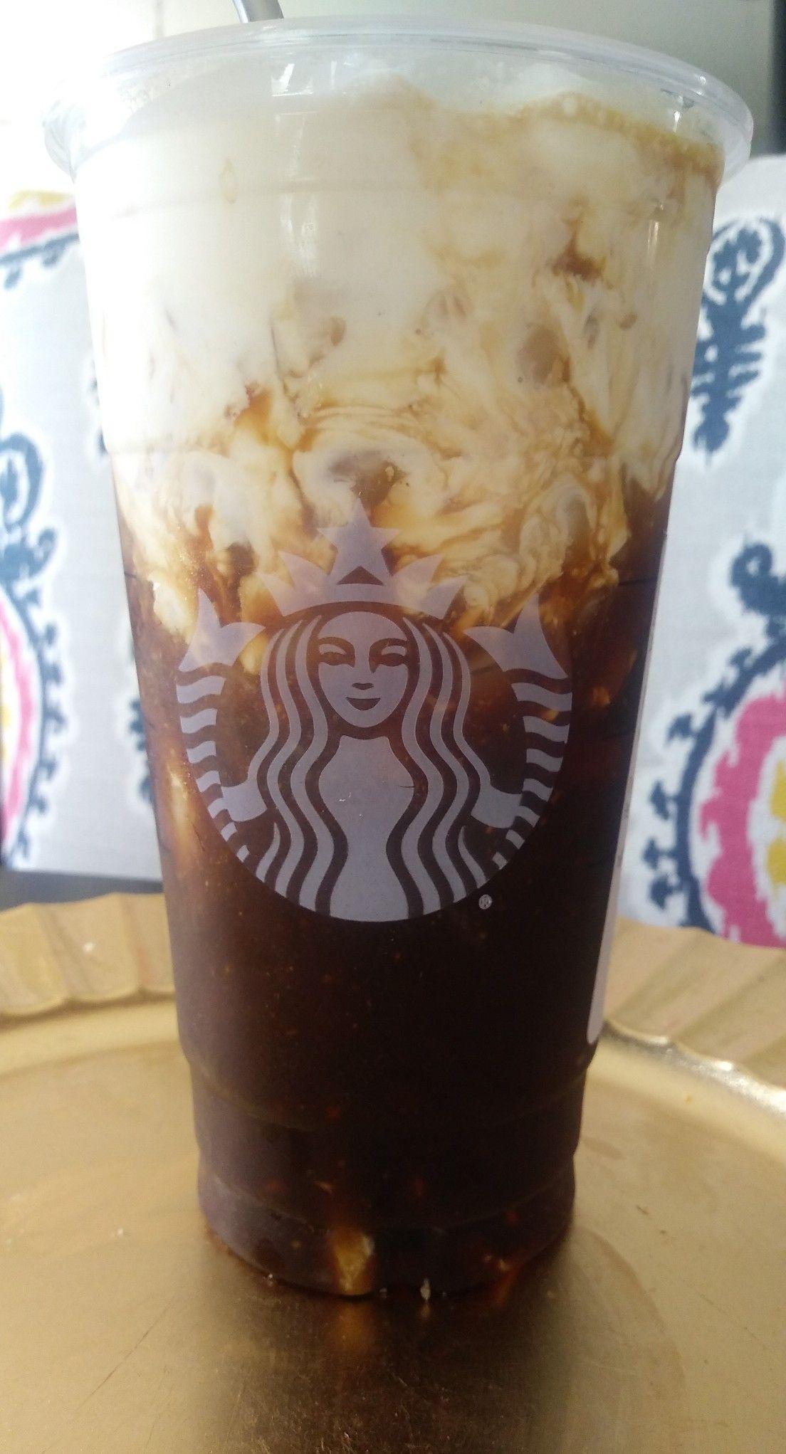 Homemade iced americano (I secretly use instant espresso