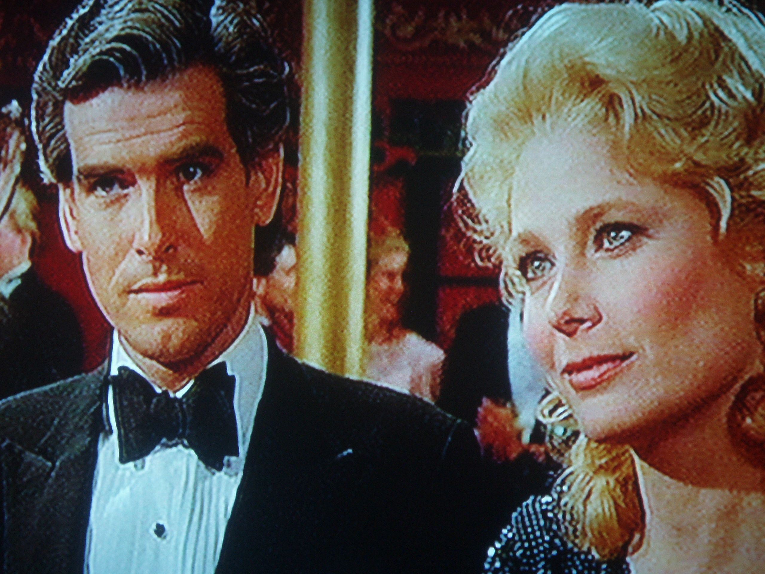 pierce brosnan and deborah raffin in quotnoble housequot 1988