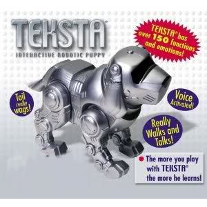 Teksta Robotic Puppy I Had The One On A Keychain 90s