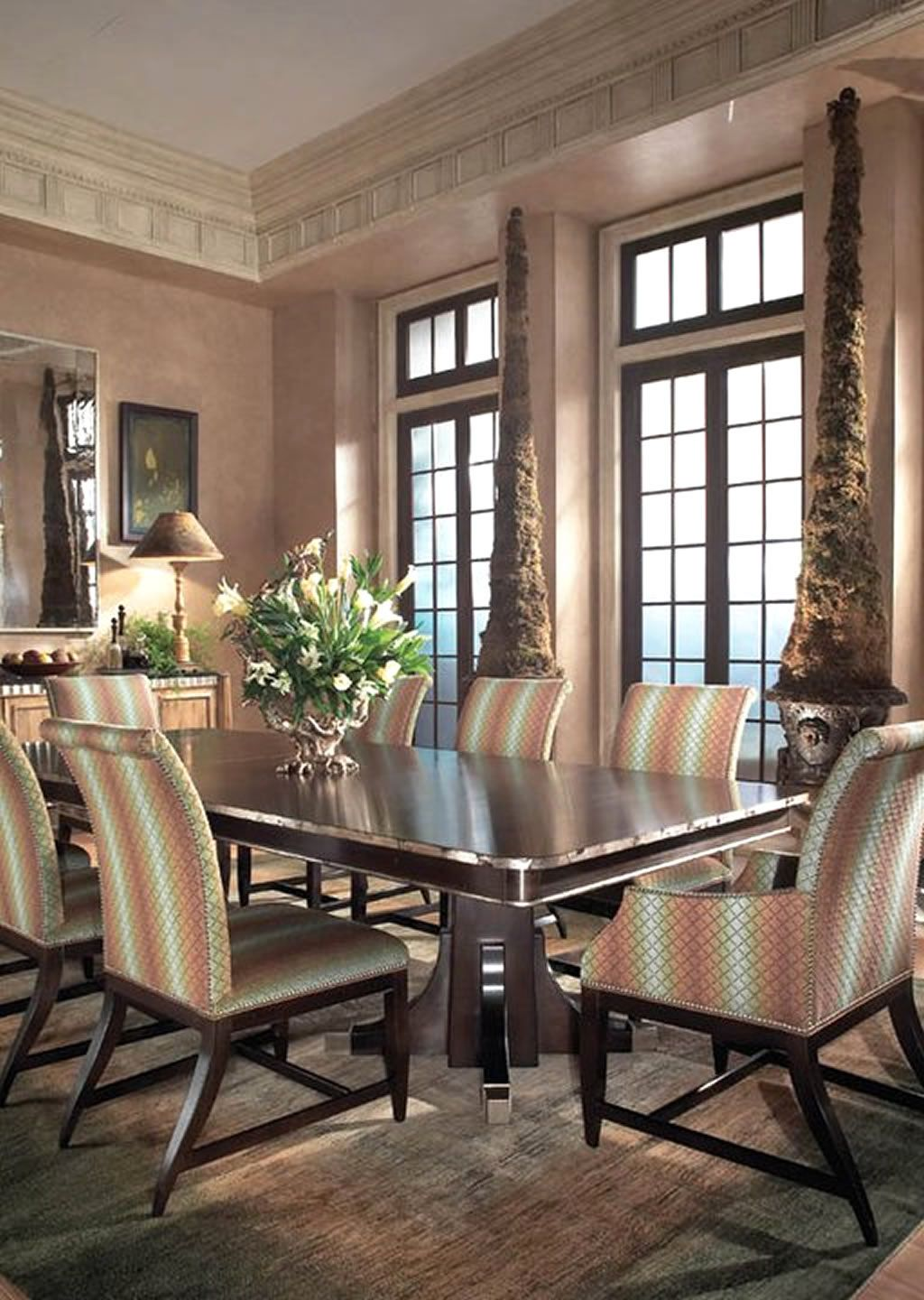 Modern Formal Dining Room Furniture  And Modern Dining Rooms Beauteous Fancy Dining Room Sets Design Ideas