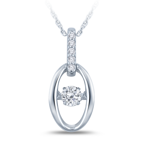 Rhythm of love pendant with diamond bail all that glitters rhythm of love pendant with diamond bail aloadofball Images