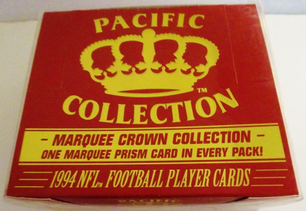 1994 marquee pacific football box 36 packs faulk favre