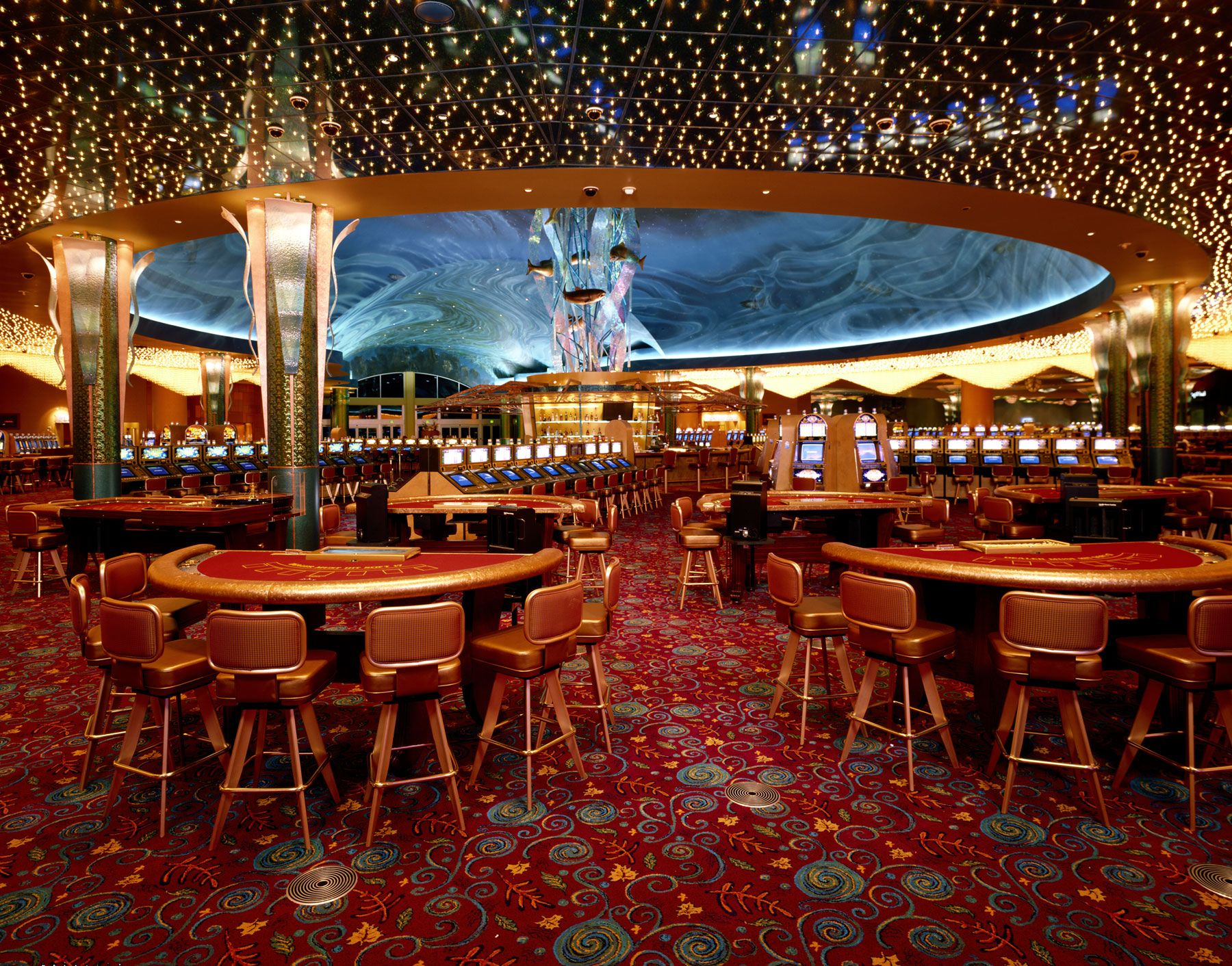 Find Here Luxxu S Modern Casino Lighting Selection To Inspire Your