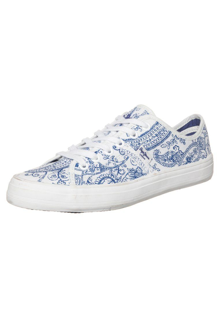 Pepe Jeans - CHERRY BANDANA - Sneakers laag - white