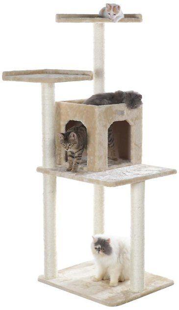 Buy Armarkat 57in GleePet Cat Tree, Beige at