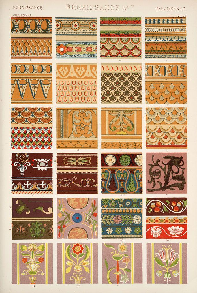 Jones, Owen, 1809-1874. / The grammar of ornament (1910 ...