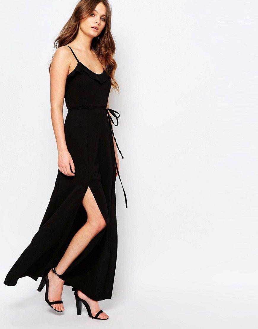 Image of New Look Ruffle Maxi Dress Wishlist april