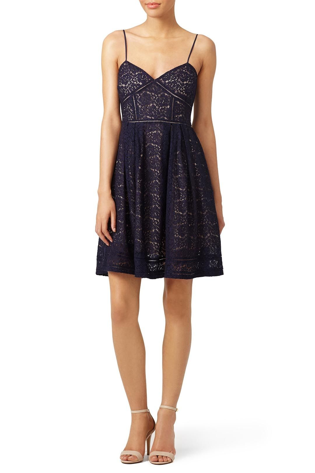 Lace dress for wedding  Joieus navy lace dress is perfect for and Engagement Party We love