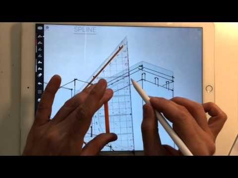 Procreate App Architectural Drawing Tips Quick Menu Streamline
