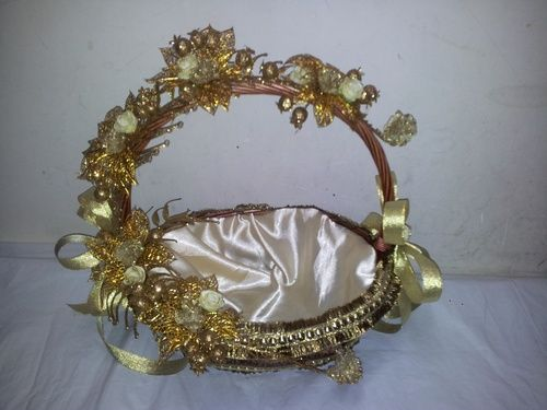 Wedding Gifts For Indian Bride: Fancy Basket, Decorative Baskets And