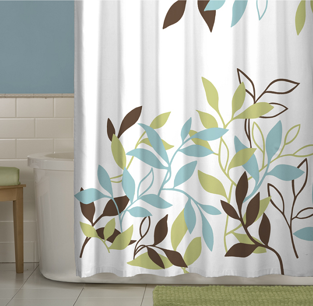 Maytex leaf shower curtain | For the Home | Pinterest | House