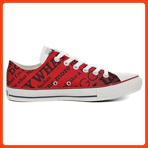 Converse Custom Slim personalisierte Schuhe (Handwerk Produkt) Elegant Paisley  45 EU