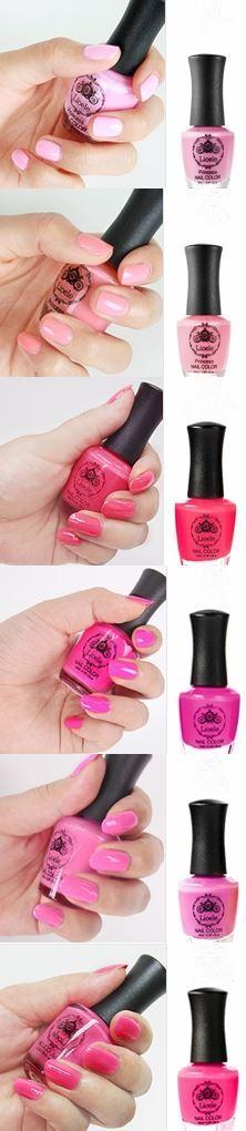 Nail Color [Lioele] 11Street #NailPolish #PoshNails #PinkNails