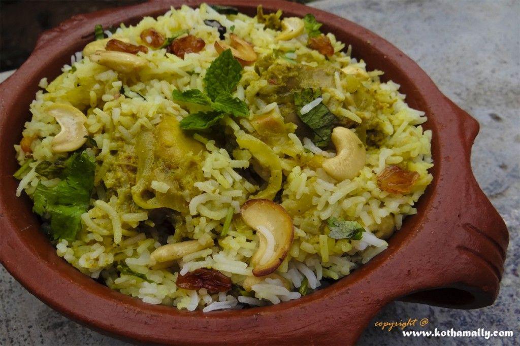 kerala chicken biryani in malayalam recipe