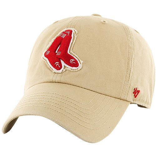070538726db Men s  47 Khaki Boston  RedSox Wright Clean Up Adjustable Hat from  23.99