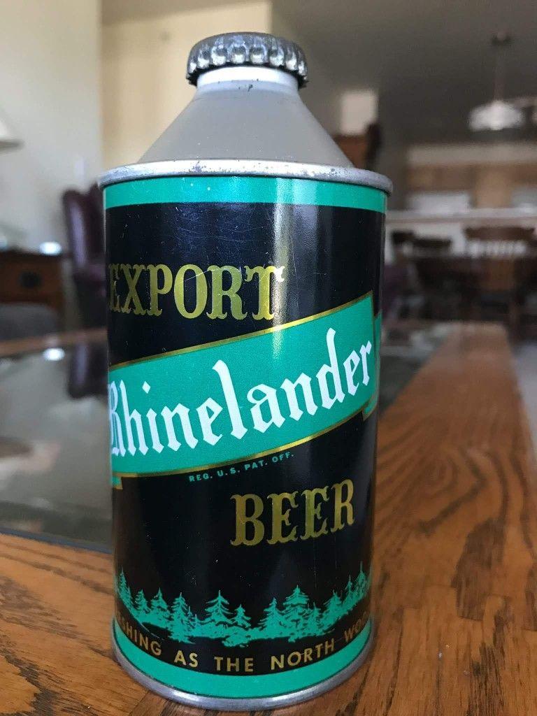 Rhinelander Export Beer , Monroe WI , early 50's in 2019