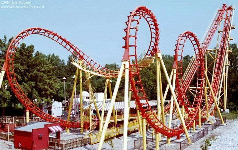 Boomerang At Worlds Of Fun Rode It Once But Didn T Care For It Haven T Ridden It Since Worlds Of Fun Kansas City Ocean Fun