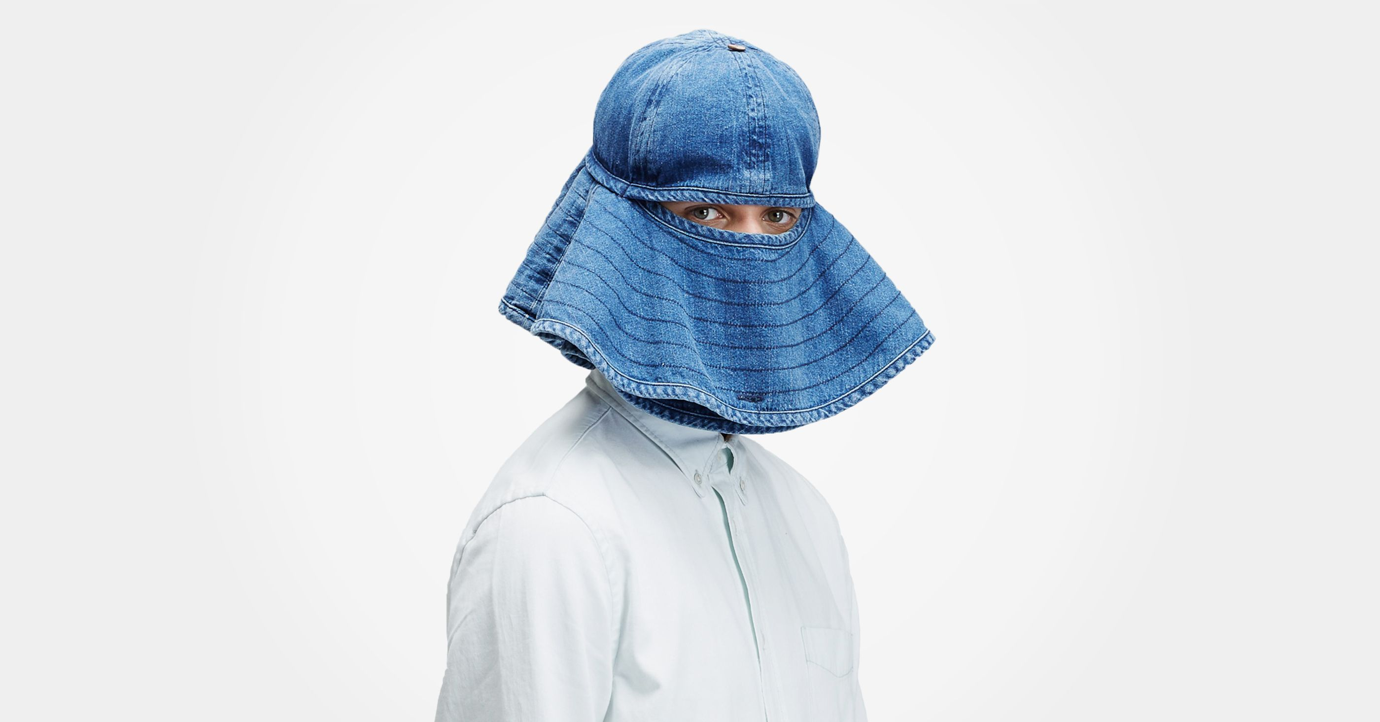 A Hat That Lets You Hide From Annoying People While