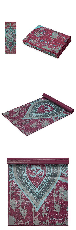 cf6d2668105 Gaiam Foldable Yoga Mat, Be Free, 2m | Yoga Mat Bags | Foldable yoga ...