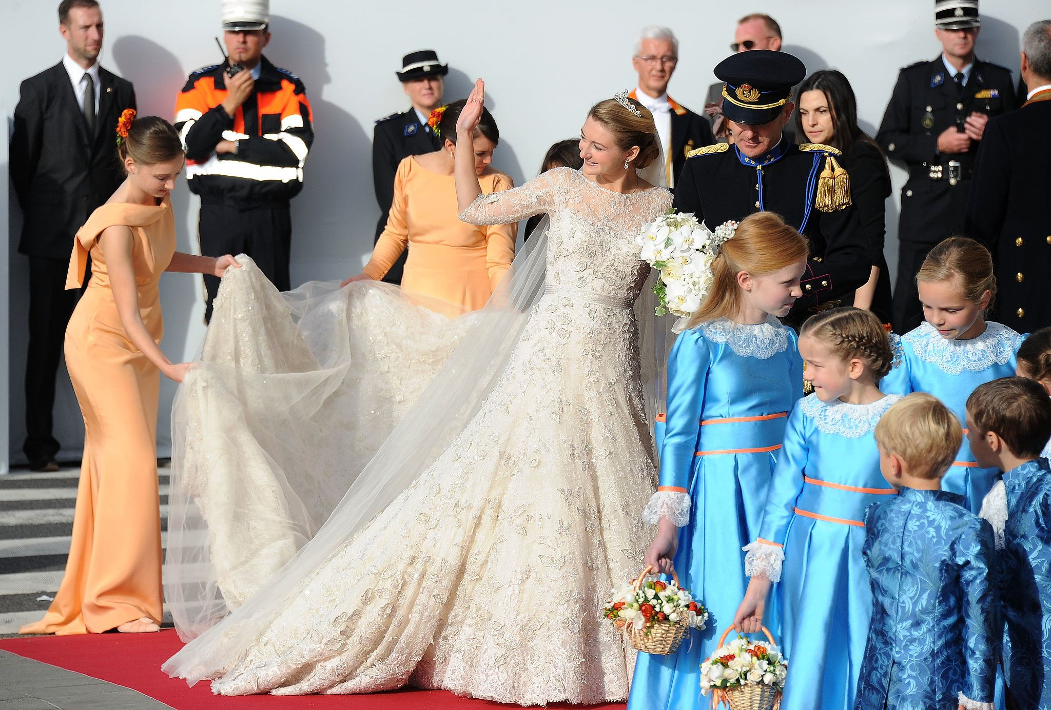 Ð?аÑ?Ñ?инки по запÑ?оÑ?Ñ? Prince Guillaume and Princess Stéphanie of Luxembourg wedding