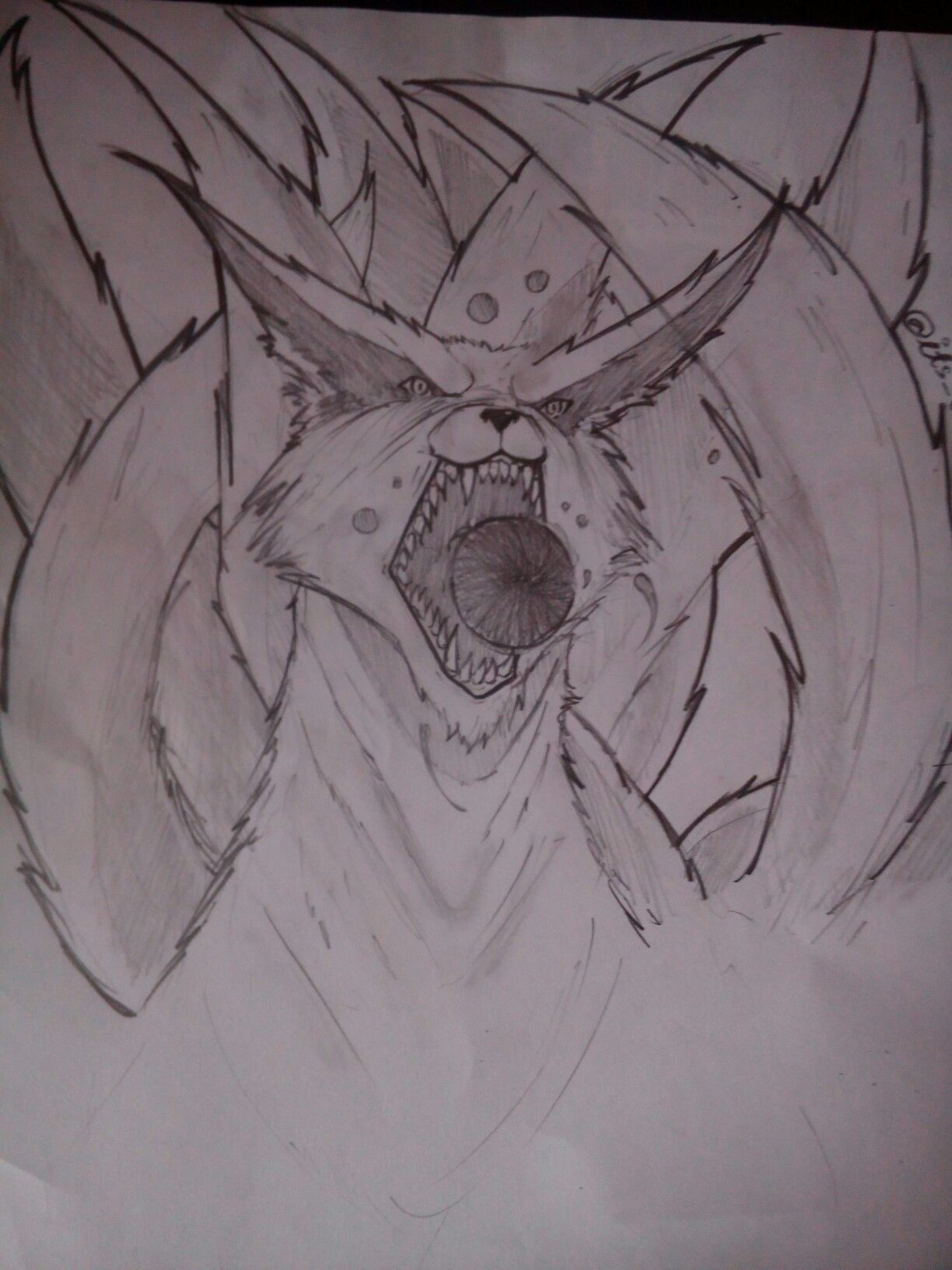 Nine Tails Naruto Shippuden Itachi Sketches Itachi Drawings