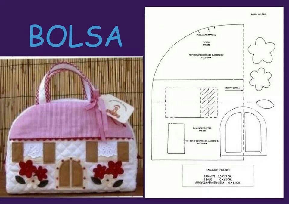 Pin de Lolilla Bravo en Bolsos y carteras (patrones) | Pinterest ...