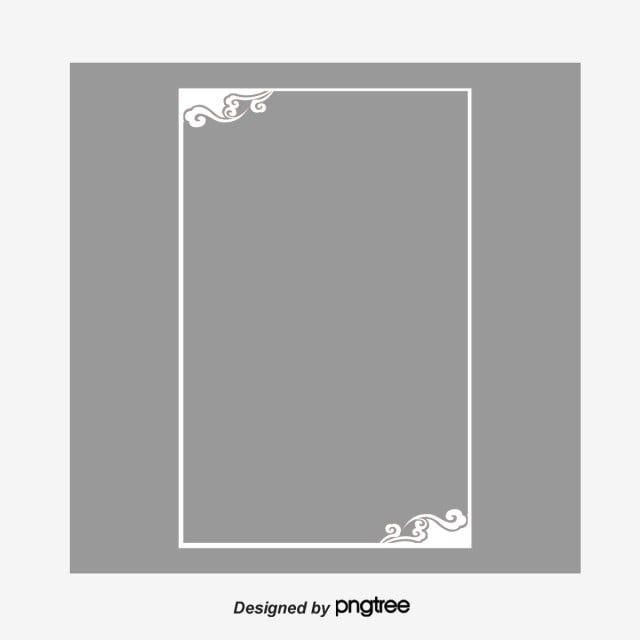 إطار ديكور أبيض قصاصة فنية الإطار قشاري Png وملف Psd للتحميل مجانا Marcos Decorativos Marco Elementos De Diseno