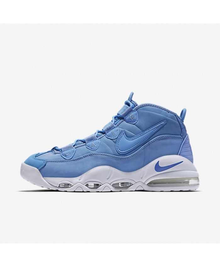cheap for discount 9c51b d1e5f Nike Air Max Uptempo 95 Mens Qs University Blue White Shoes Outlet