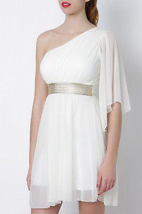 352a4f32a46 Vestido griego asimetrico-Elarmariodelatele