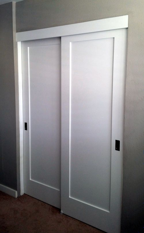Sliding Closet Panel Doors Diy Closet Doors Closet Door