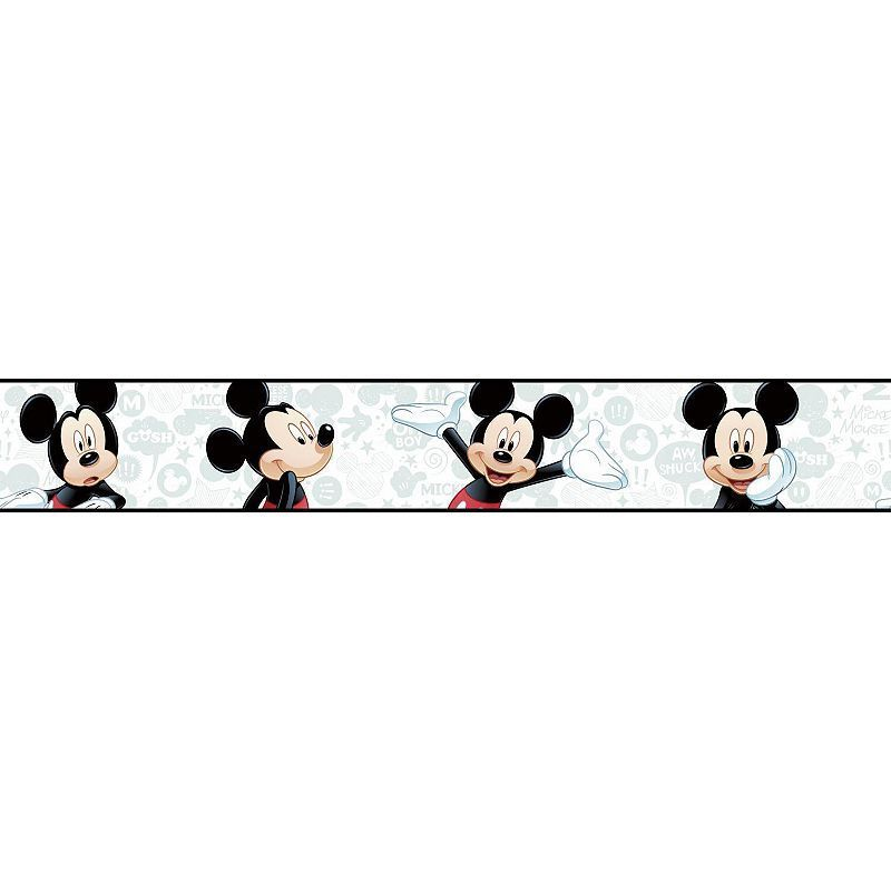 Disney's Mickey Mouse Wall Border Walt disney kids