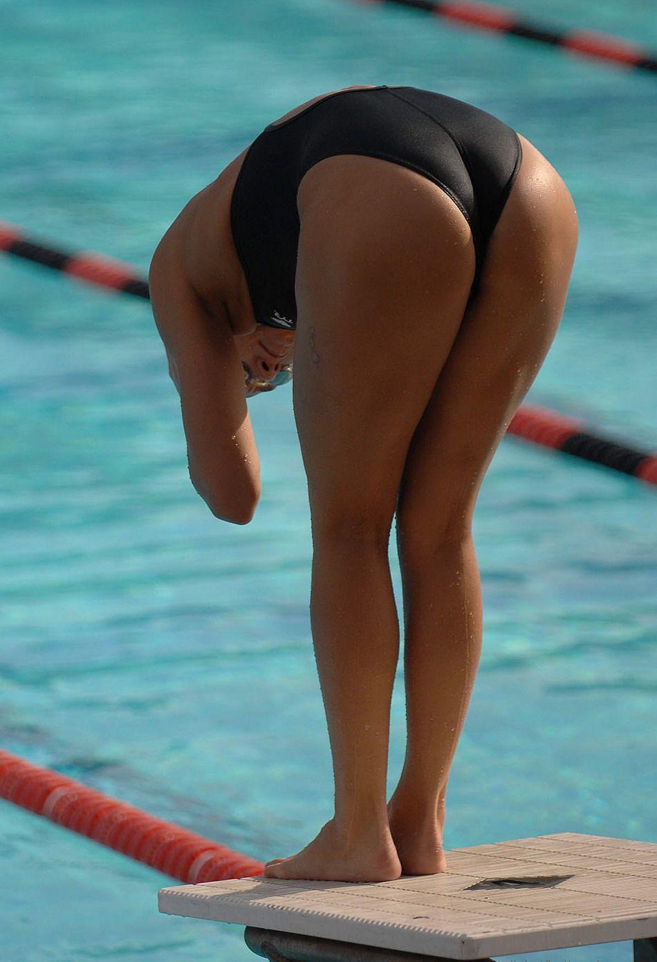 High school swimmer disqualified because ref saw butt cheek touching butt cheek