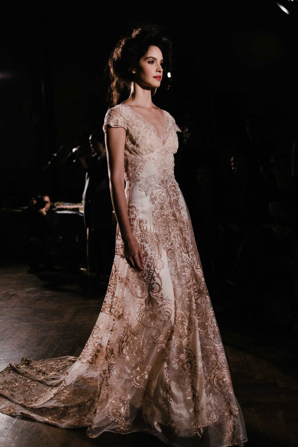 Claire Pettibone The Gilded Age Collection Little White Dress
