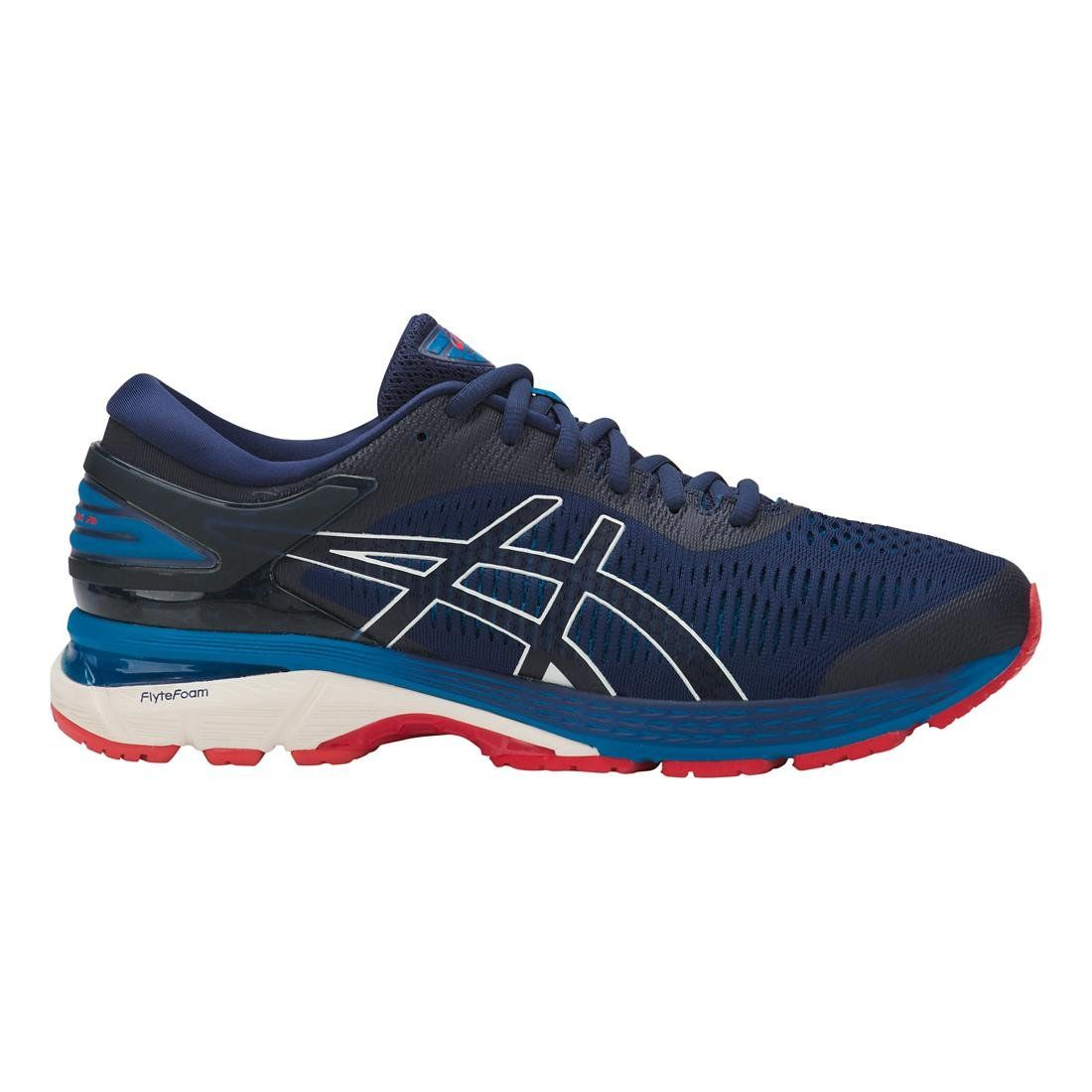 Asics Gel Kayanor 25 Indigo Blue White Men S Running Shoes Find Out More About The Great Product At The Imag In 2020 Running Shoes For Men Running Shoes Blue Shoes