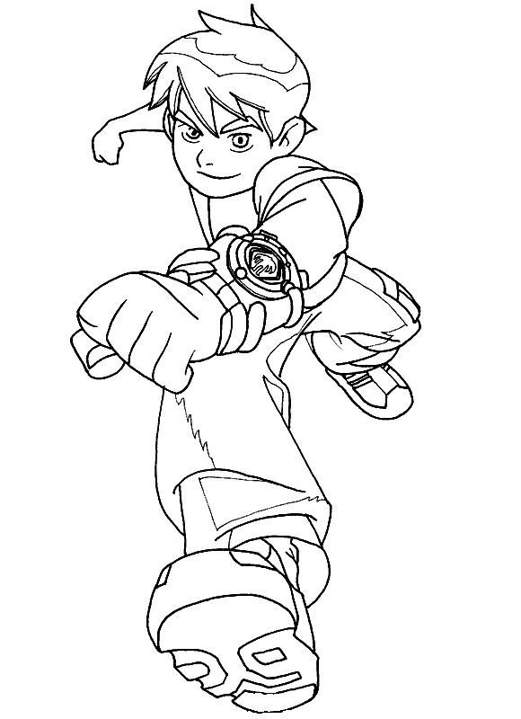 ben10coloringpage  ben ten  Pinterest  Ben 10