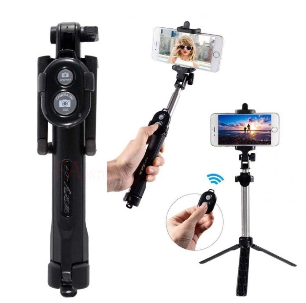 3in1 bluetooth remote control phone tripod selfie stick