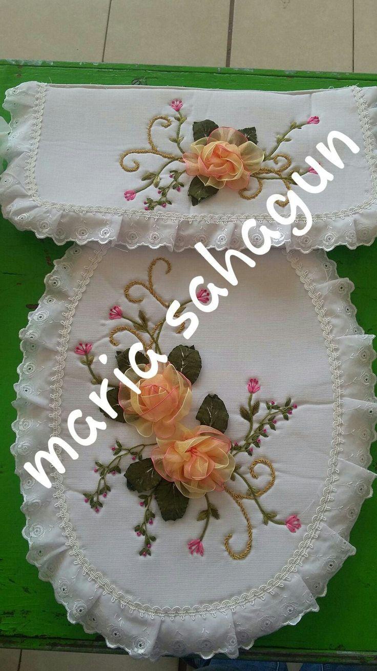 Imagen relacionada banyo tak mlar pinterest ribbon - Cojines hechos a mano ...